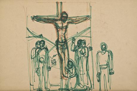 Один из эскизов из коллекции Национального собрания Армении