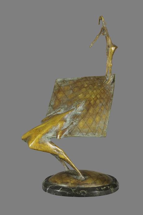 """""""Сатир и Нимфа"""" 2004 Гарегин Давтян, Национальная галерея Армения"""