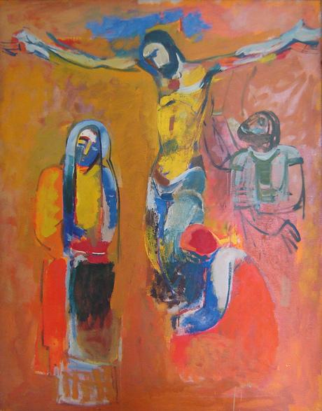 """""""Распятие"""", 1973, Музея художника в Джаджуре"""