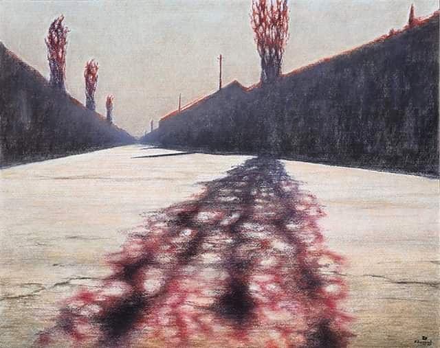 """Красная тень"" 2007 Сергей Наразян"