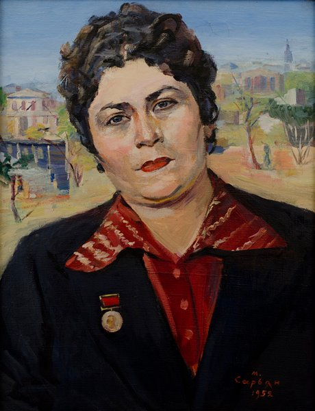 Поэтесса Сильва Капутикян, Мартирос Сарьян