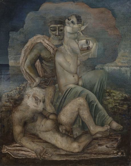 """""""Семья. Поколения"""" 1925 Еванд Кочар, Национальная галерея Армении"""