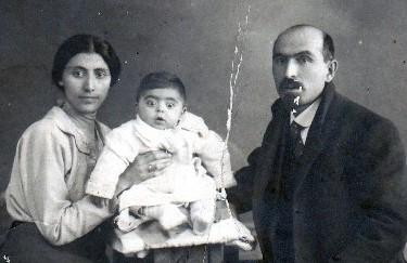 С первой женой, Мариам Кананян