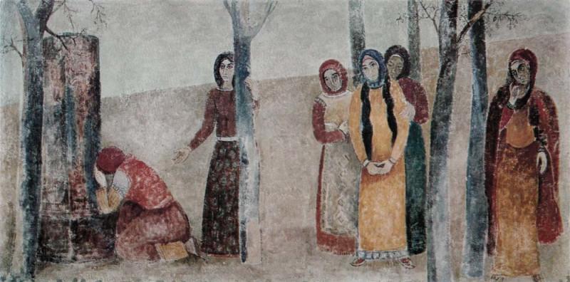 Фреска, посвященная Торосу Рослину