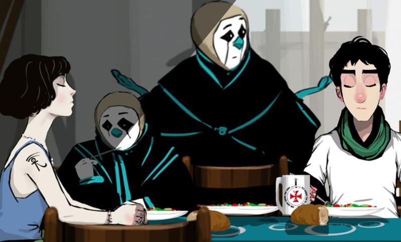кадр из мультфильма Айка Саядяна