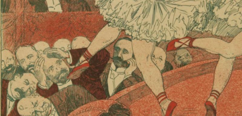 "Картинка из журнала ""Хатабала"" 1908 №22, художник Иосиф Роттер"