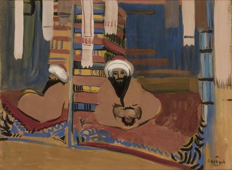 """Мартирос Сарьян, """"Восточные торговцы"""" 1910, Национальная галерея Армении"""