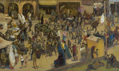 "Григор Агасян, ""Старый рынок Еревана"" 1977"
