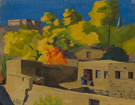 Ереван, этюд, 1923, Национальная галерея Армении
