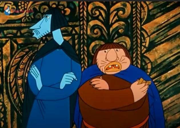 """Скрин из мультфильма """"Молодильные яблоки"""" 1974"""