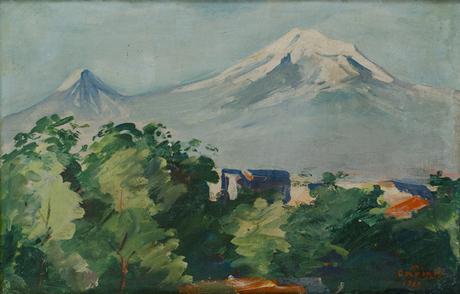 Арарат, 1929, Национальная галерея Армении