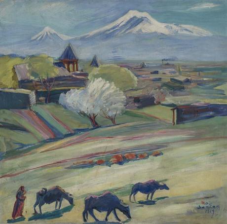 Весенний день, 1929 Национальная галерея Армении
