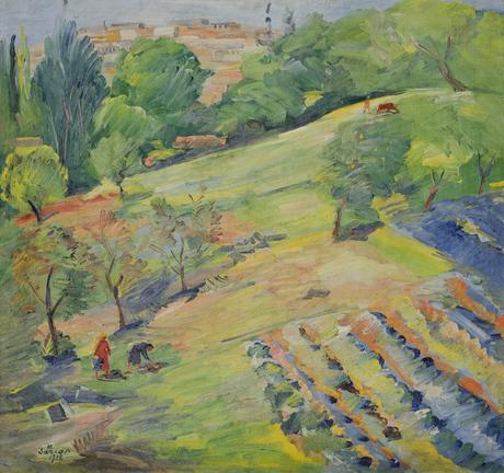 Весна. Сады, 1932, Национальная галерея Армении