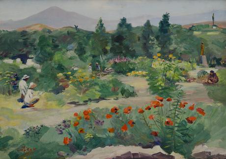 В ботаническом саду, 1951, Национальная галерея Армении