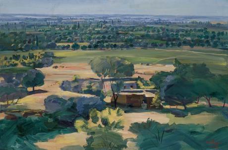 Вид на Араратскую долину с Двина, 1953, Национальная галерея Армении