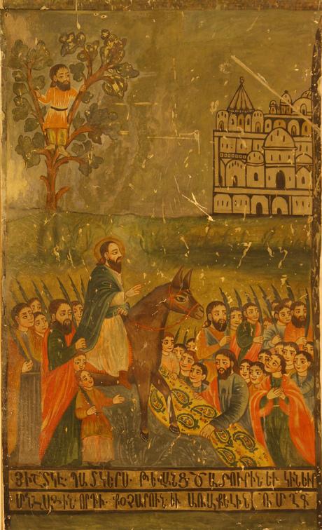 Копия фрески церкви св. Богородицы города Мегри