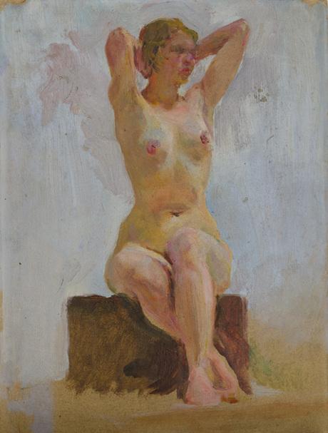 Этюд, 1935, Национальная галерея Армении