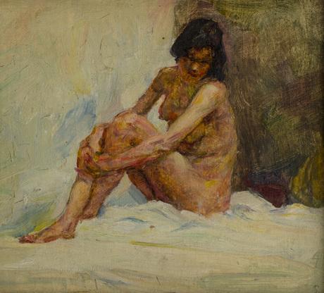 этюд, 1890, Национальная галерея Армении