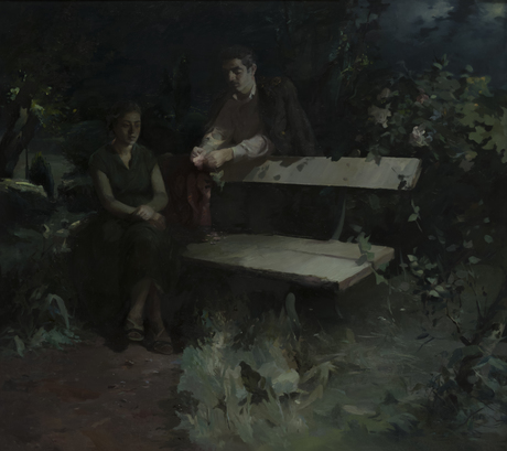 """Вагаршак Саркисян """"Ереванские ночи"""" 1957"""