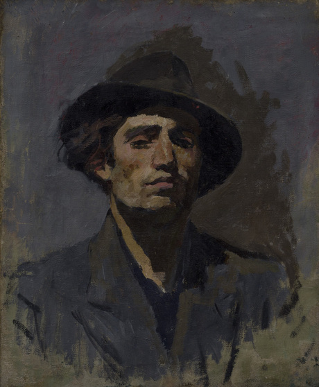 Минас Аветисян (1927-1975) Автопортрет