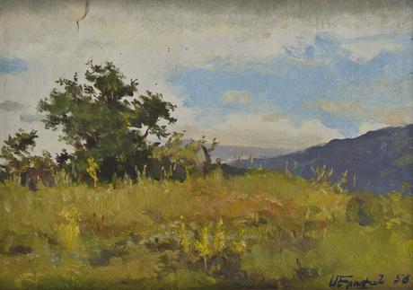 Меружан Арутюнян 1927-1971 пейзаж, 1959