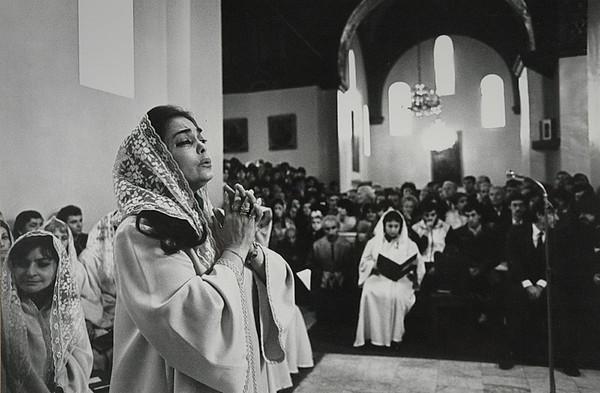 начало 80-х Лусин Закарян в Эчмиадзине