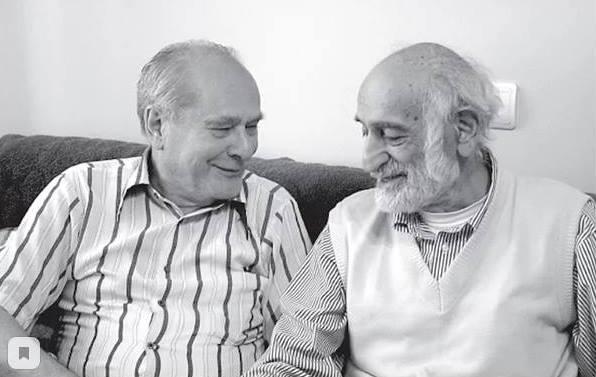 Ким Бакши и Сос Саркисян фото с сайта Армянский музей Москвы
