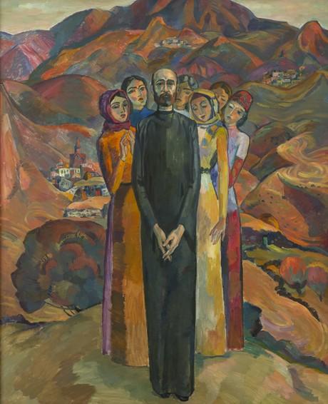 """Роберт Аветисян, """"Родные напевы"""" 1969, Национальная галерея Армении"""
