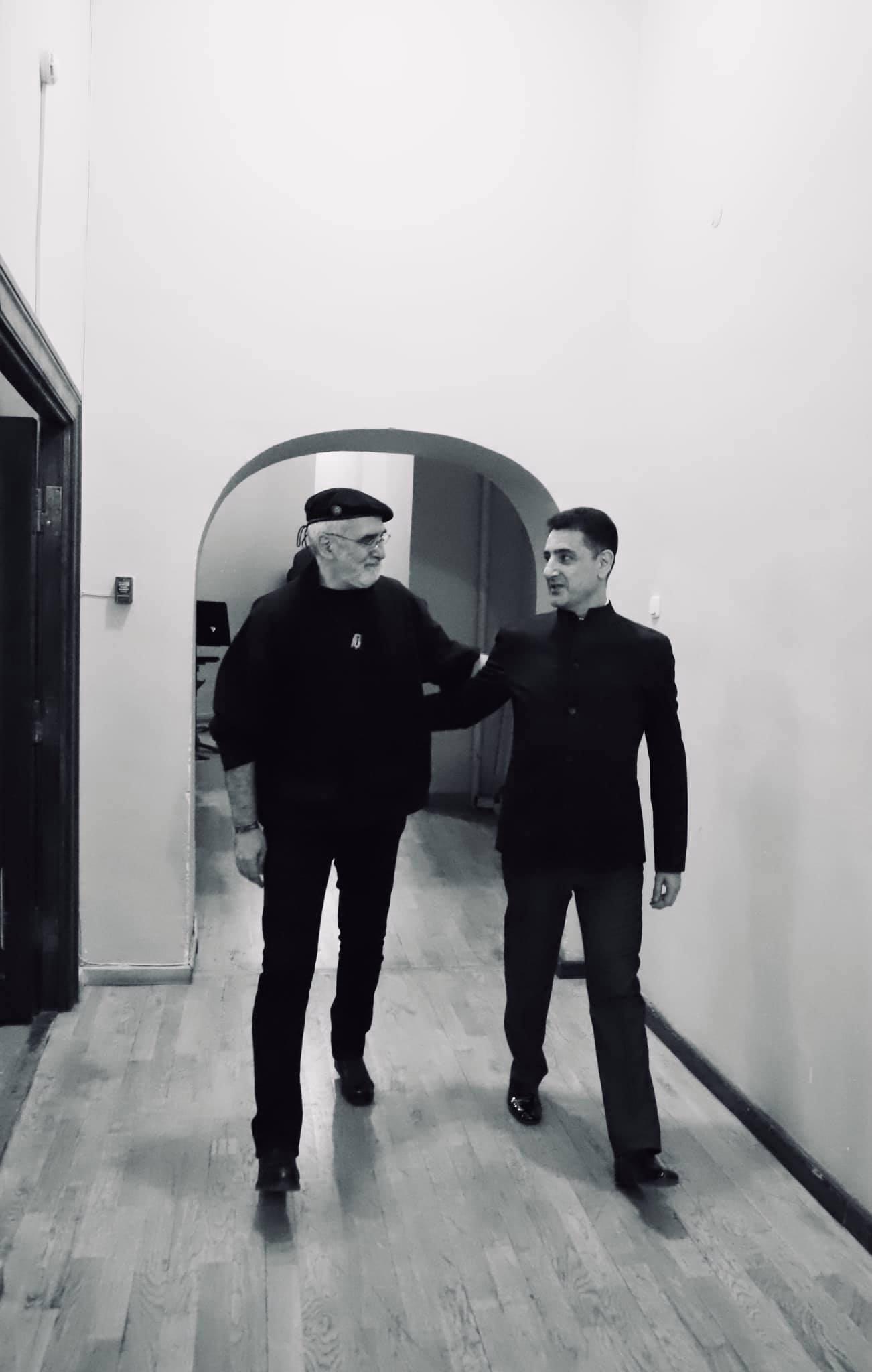 Фото Гарегин Агабекян, концерт LUX PERPETUA 28.04.21 Ереван