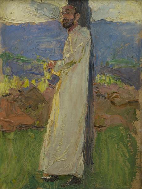 Егишэ Тадеовсян, Комитас 1903, этюд Национальная галерея Армении