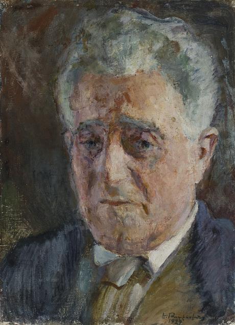 Егише Тадевосян, портрет Народного писателя Александра Ширванзаде, 1929