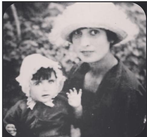 Из семейного архива Евгения с дочерью