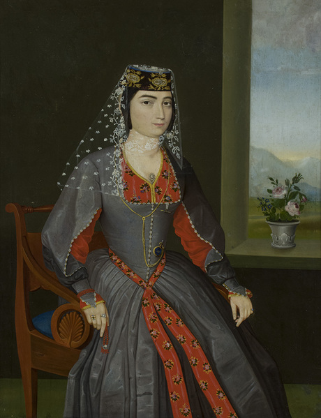 Портрет Шушаник Надирян 1950-1860