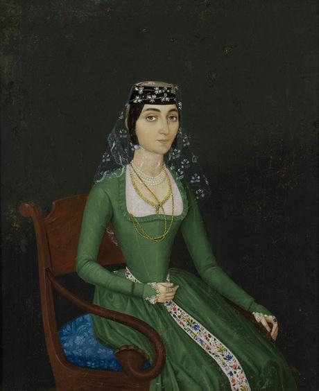 Портрет  Екатерины Давидовны Ростиковны Гаргенбековой.