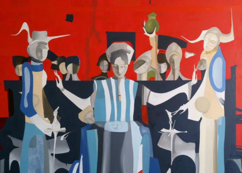 """""""Правосудие""""  90x126 cm. 2013"""