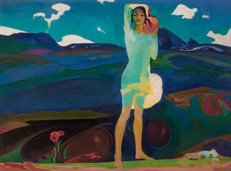 """""""Весна"""" Ованнес Зардарян, Национальная галерея Армении"""
