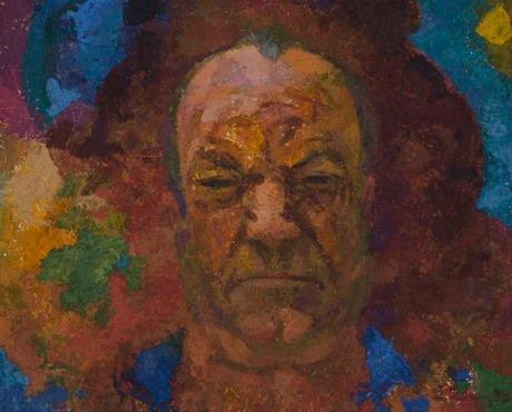 Ованнес Зардарян, портрет ветерана войны, мельника Левона, 1983, Национальная галерея Армении