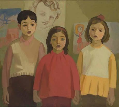 "Вартитер Карапетян ""Малыши"", 1970 Национальная галерея Армении"