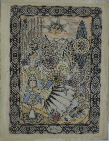 Спящая персиянка, 1921