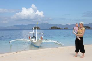 Бусанга, Филиппины, Катя с Верой