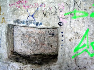 Телевидение тоже уже не имеет значения. Даже вот этот древний телевизор, снятый мной в одной из пещер Мангупа