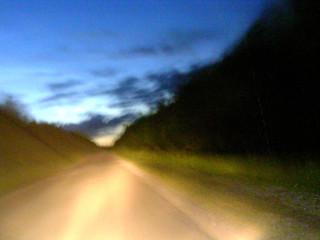 Дорога под Новоуральском
