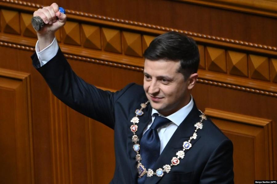 Украины при Владимире Зеленском опсро VZ