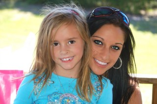 Chelsea and Me on her 7th bday at the park =)