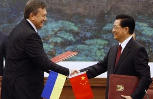 Янукович Китай 2013
