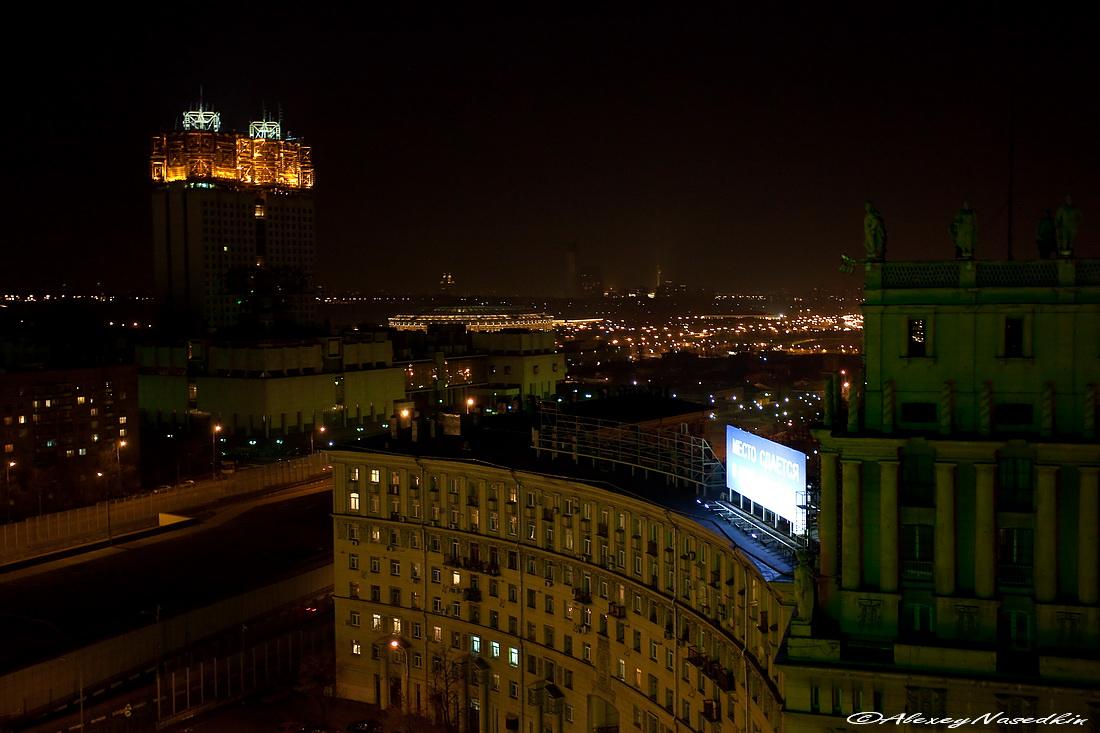 можете попросить фото зимней ночной москвы с крыши джонсон