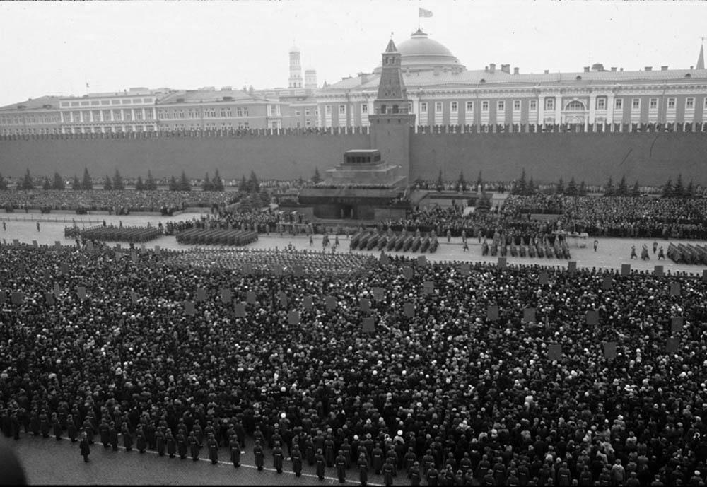 Как хоронили Брежнева (воспоминания и фото)