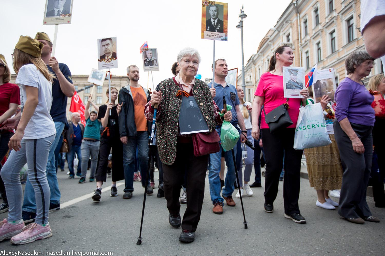 Москва. Лица Бессмертного полка (фото)