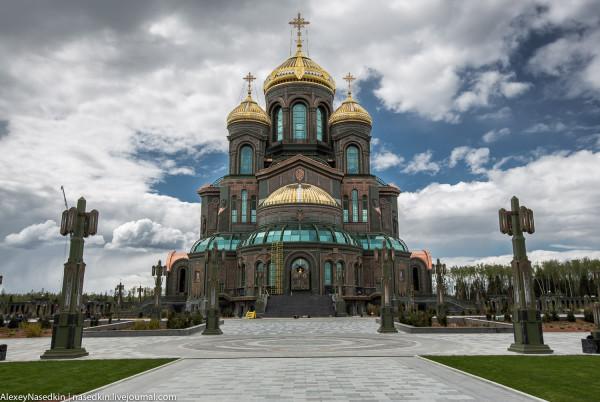 Главный храм Вооружённых сил РФ - антихристианское капище