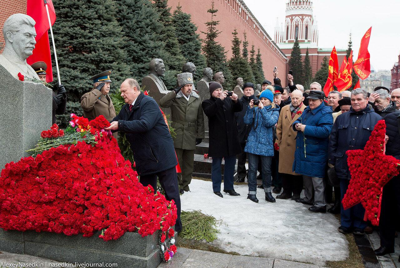 Геннадий Зюганов снова разорвал шаблон